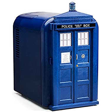 Doctor Who Plastic TARDIS Mini Fridge (Blue)