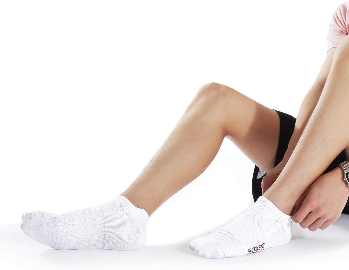 Weekend Peninsula 5 Pares Calcetines Running Deportivos Hombres Mujer Calcetines Cortos Tobilleros Hombre Mujer Invisibles Bajos Antiampollas