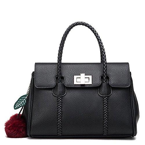 El Señoras Y Hombro Violeta GWQGZ Aire Es Bolso Black Elegante 07Cpq6C