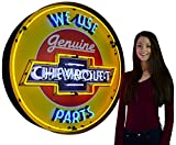 Neonetics 9CHVBK Chevrolet Neon Sign in Metal Can, 36-Inch