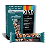 KIND Bars, Chocolate Oscuro, Nueces y Sal Marina