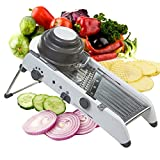Mandoline Slicer Manual Stainless Steel Blade Adjustable Vegetable Onion Potato Slicer Food Kitchen