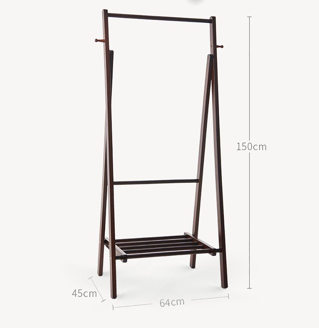 Amazon.com: Perchero piso de Simple perchero de madera ...