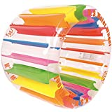 "Jilong Water Wheel - Giant Inflatable Swimming Pool Water Wheel Toy (49.2"" X 33"")"