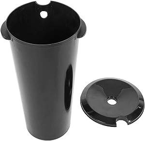 NSWD Washbasin Bucket, 10L Mobile Hair Washbasin Bucket for Salon Home Beauty Use