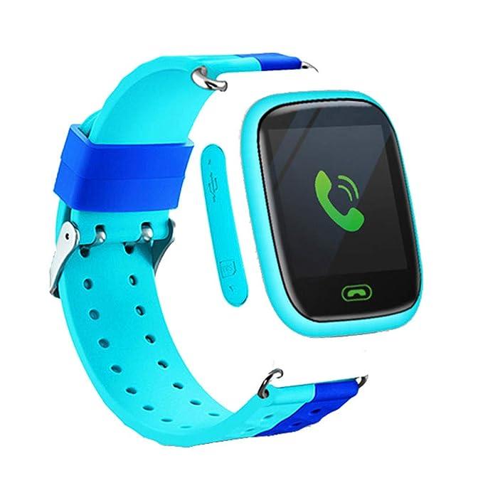 Amazon.com: FINME Q18 Kids SmartWatch Screen GPRS Location ...