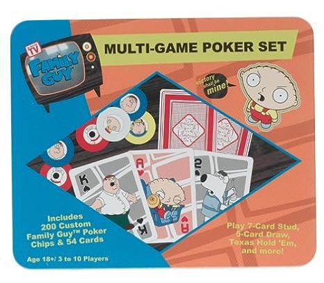 Amazon.com: Family chavo Deluxe Set de póker: Sports & Outdoors