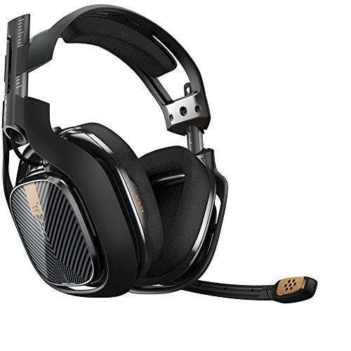 ASTRO Gaming A40 TR Gaming Headset for PC, Mac - Black (Gamers Pro Kit)