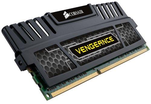 Corsair Vengeance 8 GB (2 x 4 GB) DDR3 1600 MHz PC3 12800 240-Pin DDR3 Dual Channel Memory Kit 1.5V (CMZ8GX3M2A1600C9) by Corsair (Image #3)