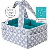 Baby Diaper Caddy Organizer Extra Large | Nursery Storage...