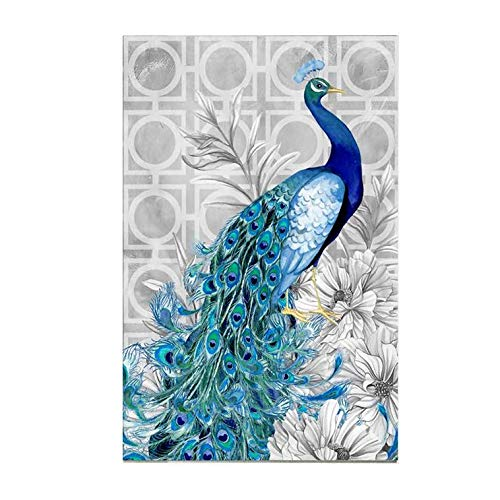 Adarl 5D DIY Diamond Painting Rhinestone Pictures of Crystals Embroidery Kits Arts, Crafts & Sewing Cross Stitch Peacock 1