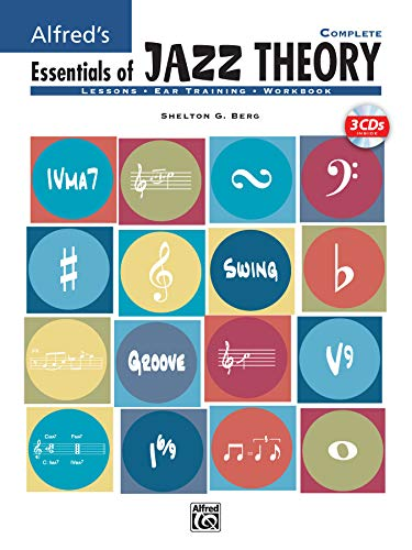 Alfred's Essentials of Jazz Theory, Complete 1-3: Book & 3 CDs