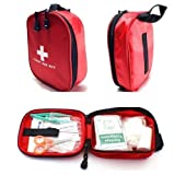 EatingBiting(R)120 Pieces First Aid Kit, Compact Survival Medical Kit Emergency Bag for Home, Auto, Traveling, Hiking, Camping, Road Trips, Sport and Wilderness Survival
