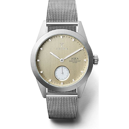 Triwa Snow Aska Watch | Silver Mesh