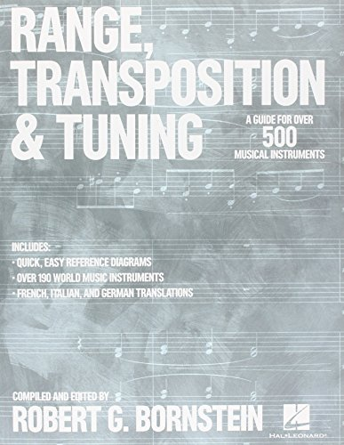 Range, Transposition & Tuning - A Guide for over 500 Musical - Tuning Range
