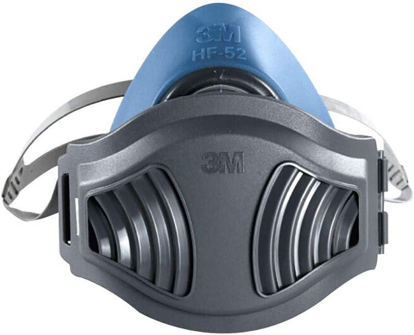 Máscara de gas media cara, caja de filtro de carbón activado profesional, máscara de pintura en aerosol antipolvo para soldadura de pesticidas químicos y otras protecciones de trabajo