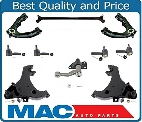 - Control Arms Tie Rods Center Link & Idler Arm 10Pc Kit for Nissan Xterra 00-04 & 99-04 3.3L & 2.4L 4 Wheel Drive Frontier