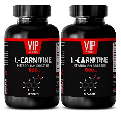L carnitine and acetyl l carnitine - Carnitine 500mg - Improves Mental Function (2 Bottles - 60 Tablets)