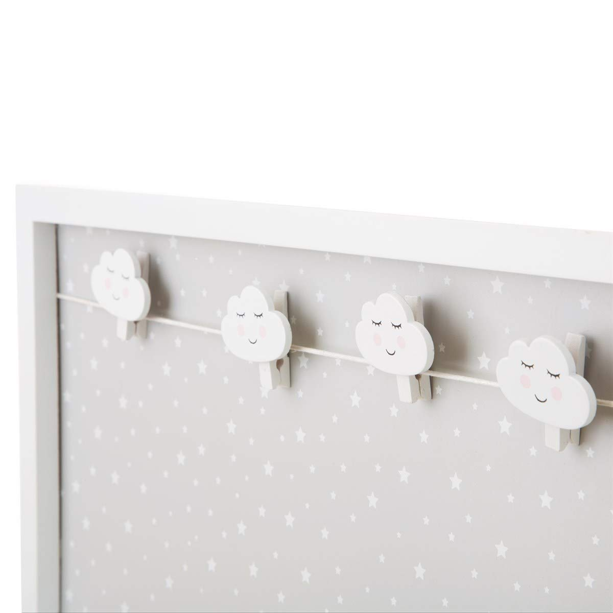 Importaci/ón inglesa Sass /& Belle Sweet Dreams Cloud Peg Display Board
