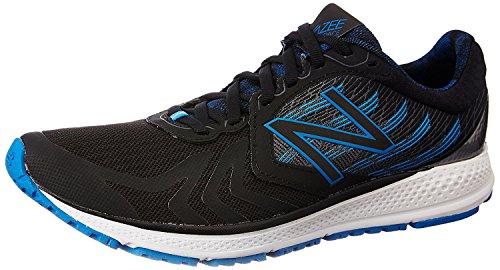 New Balance Men's Vazee Pace V2 Running Shoe, Negro/Azul, 44 D(M) EU/9.5 D(M) UK