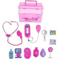 D DOLITY 12 Pcs Juegos Miniatura Accesorios De Rol De Plásticos Para Niños 1-4 Años