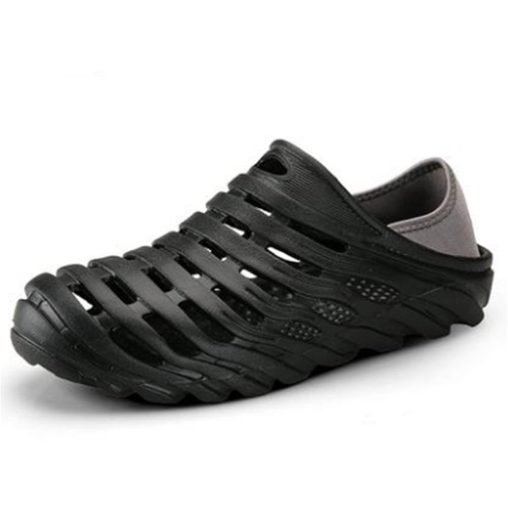W&XY hombres playa sandalias respirable medias medias Perezoso vadeando agujero frío Zapatos de agua, 40, orange orange|40