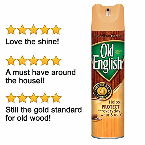 Old English Furniture Polish, Almond 150 oz (12 Cans x 12.5 oz) by Old English (Image #6)