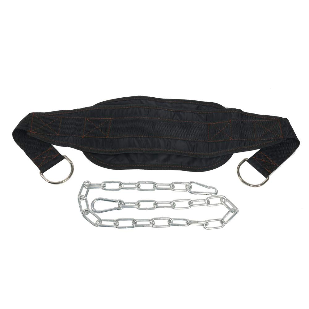 YaeGoo Dip Belt Weight Lifting Pull Up Belt with 34 Steel Chain for Bodybuilding Strength Training Yaemart Corporation