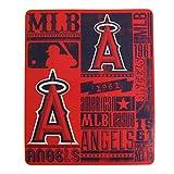 Northwest MLB Los Angeles Angels Fleece Throw