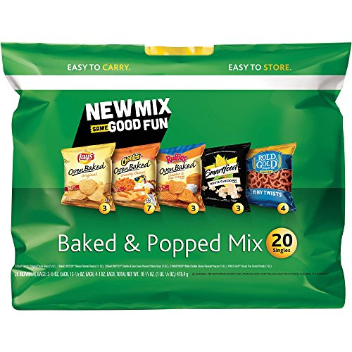 Frito Lay Baked & Popped Mix (1 Bag of 20)