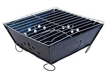 Landmann 11527 Portago Holzkohlegrill : Fresh grills u klapp und tragbarer holzkohlegrill amazon garten