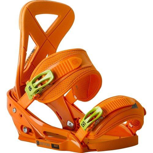 Burton Custom EST Snowboard Binding Orange ORANGE M