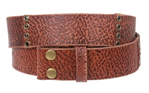 Distressed Leather Grommet - 8