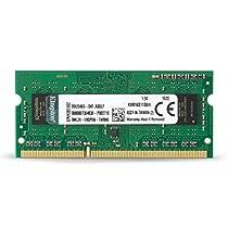 Kingston KVR16S11S8/4 Memoria RAM da 4 GB, 1600 MHz, DDR3, Non-ECC CL11 SODIMM, 204-pin, 1.5 V