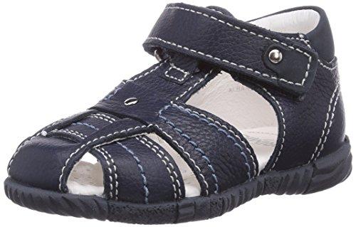 Primigi LARS-E - Zapatos primeros pasos de cuero para niño azul - Blau (BLUE SCURO)