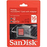 Secure Digital, 16GB Micro Sd with adap