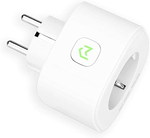 Enchufe Inteligente, Mide el Consumo 16A 3680W Wi-Fi Smart Plug ...