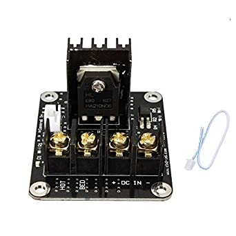 Integrated Circuits Active Components 3d Printer Board High Power Heat Bed Module Mos Tube Power Expansion Board High Current Load Accessories