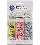 Wilton Sprinkles Essentials Sets, Pastel