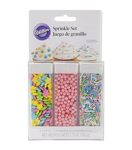 Wilton Sprinkles Essentials Sets, Pastel