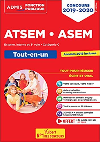 d0a934dc3a4 Amazon.fr - Concours ATSEM et ASEM - Catégorie C - Tout-en-un - Concours  2019-2020 - Elodie Laplace - Livres