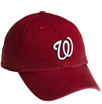 MLB '47 Brand Washington Nationals Red Franchise Fitted Hat (XXX-Large)