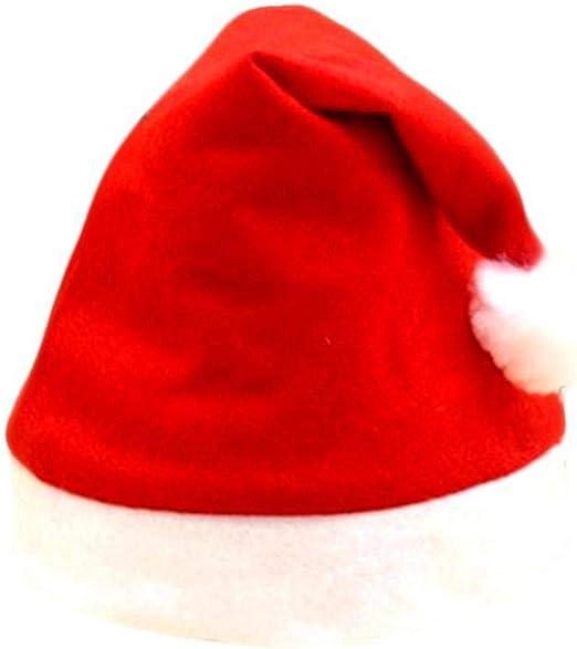 Acecoree Gorro Papá Noel para Niños y Adultos Decoración de Navidad Sombrero Santa Claus Clásico: Amazon.es: Productos para mascotas