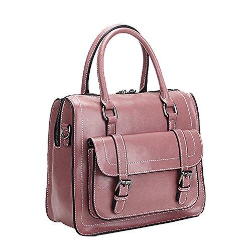 femme bandoulière Sac E Sac portés épaule main LF fashion M076 Sac main Sac cuir Girl portés à en Violet 44wzqATFv