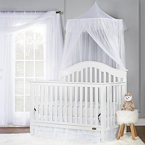 Dream On Me Charlotte 5-In-1 Convertible Crib, White