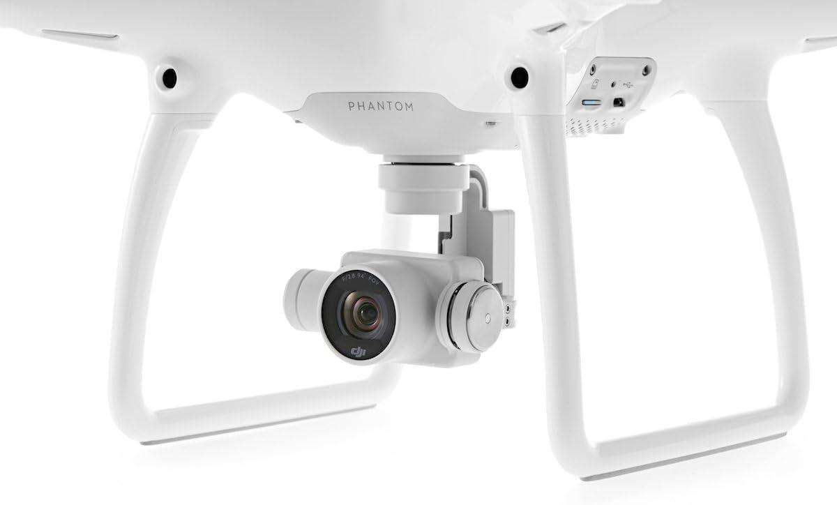 DJI Phantom 4 - Drone cuadricóptero (velocidad 20 m/s, 4000 x 3000p, 5350 mAh), color blanco: DJI: Amazon.es: Electrónica