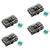 Areyourshop 4Pcs Mini ANL Fuse Holder 3 in 1 Bolt Type Car Audio Power Safety Base