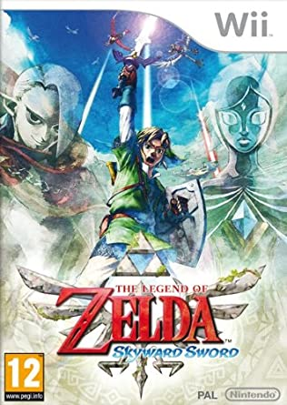 The Legend of Zelda: Skyward Sword (Nintendo Wii) [importación ...