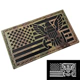 IR Multicam US Navy USA Flag USN Infrared IFF Tactical Morale Fastener Patch