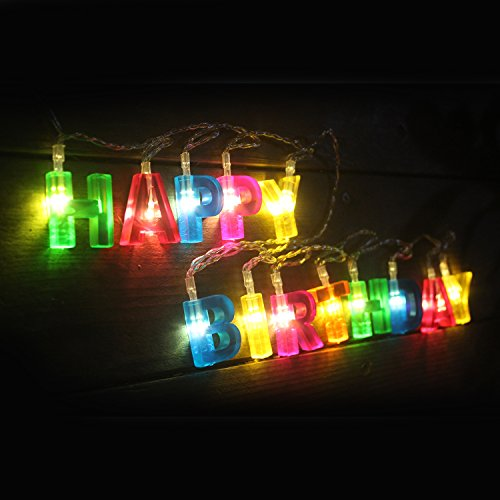 String Lights Garage : [New Improved] 13 LED